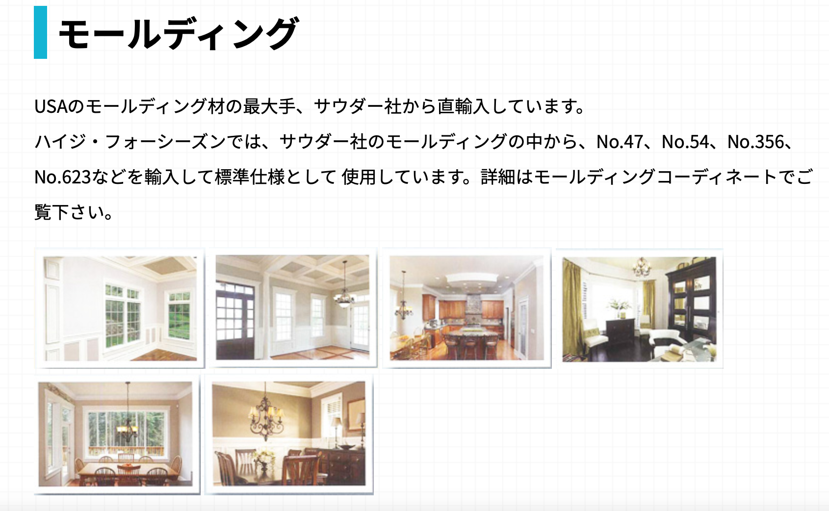 モールディング_ロビンスジャパン
