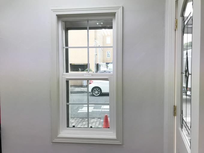 ロビンスジャパンの標準仕様の窓ケーシング