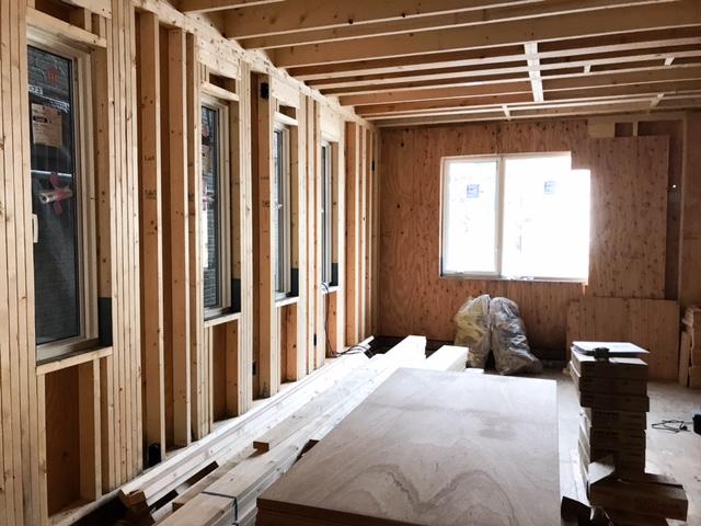ロビンスジャパンの工事中の様子_注文住宅のブログ_ツーバイフォー
