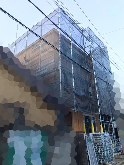 ロビンスジャパンの工事中の様子_注文住宅のブログ_YKKapの窓_東の朝日_高窓