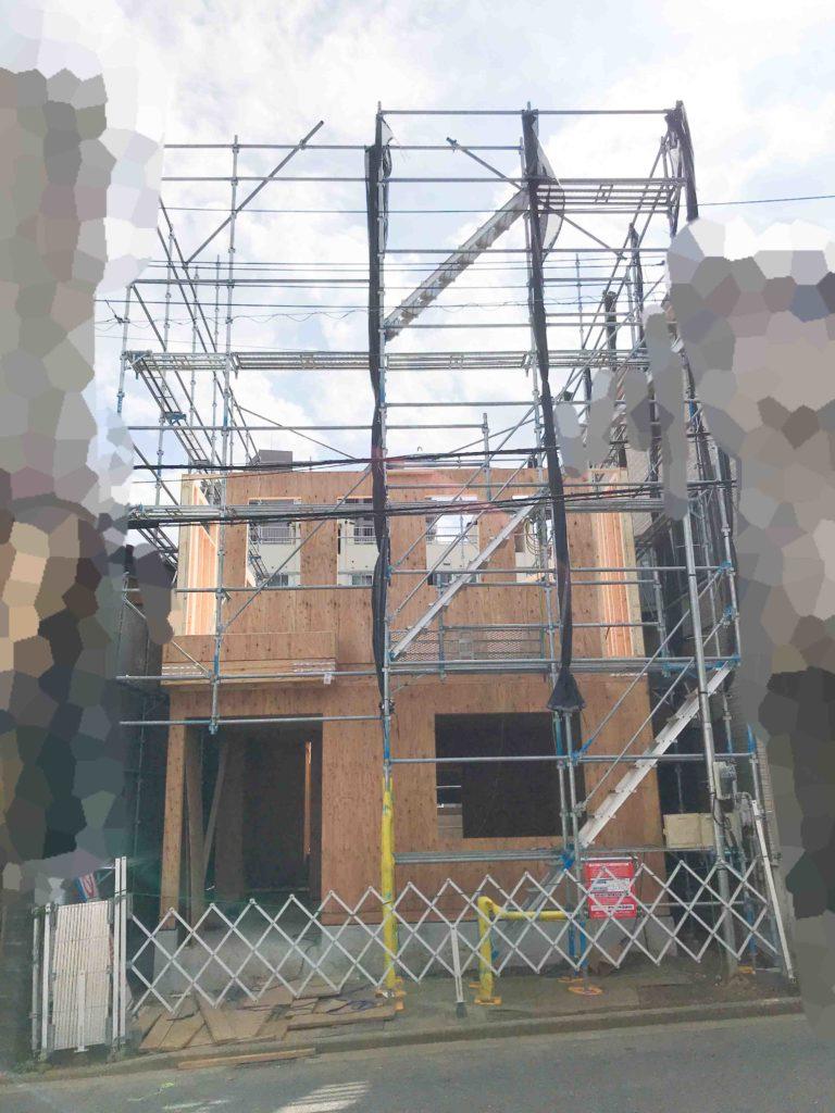 ロビンスジャパンの工事中の様子_注文住宅のブログ_2階ができてきた