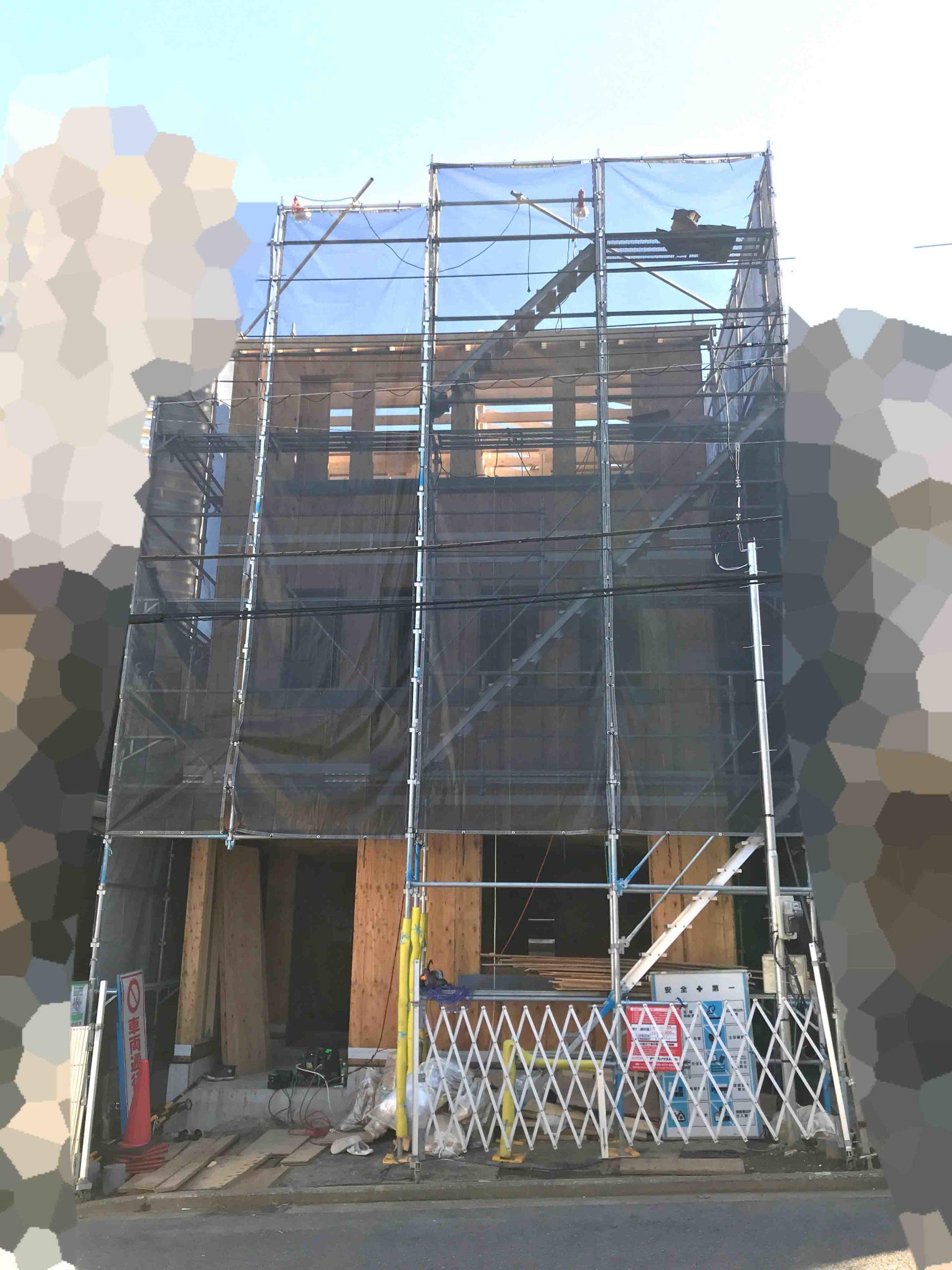 ロビンスジャパンの工事中の様子_注文住宅のブログ_3階ができてきた