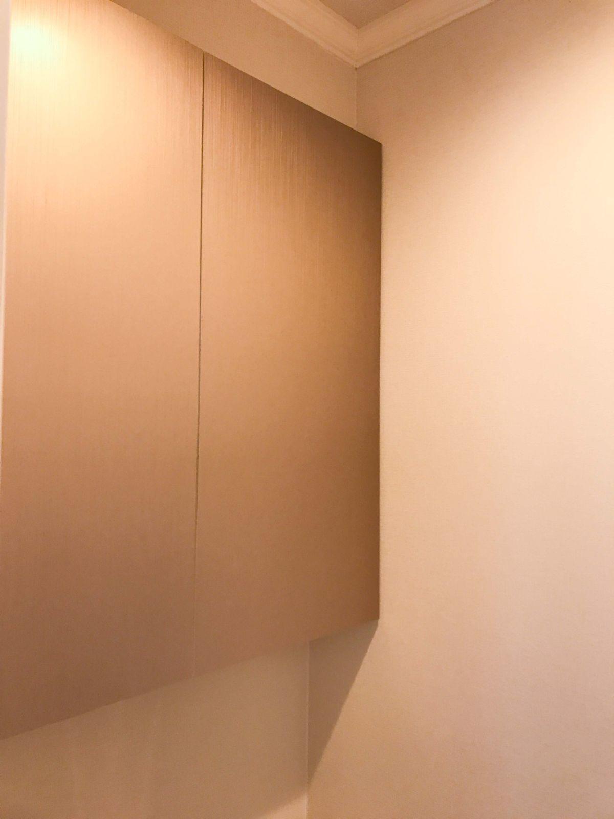 トイレの造作吊戸棚